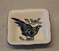 Blue Pheasant Faience ...